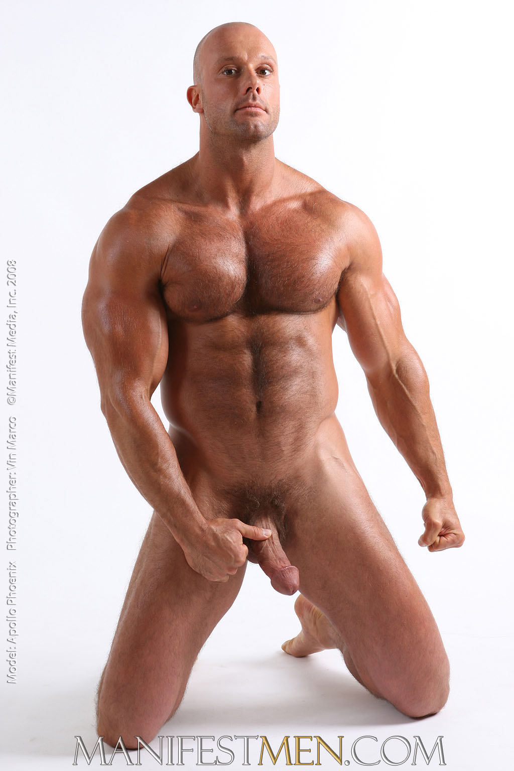 Man muscle nude not