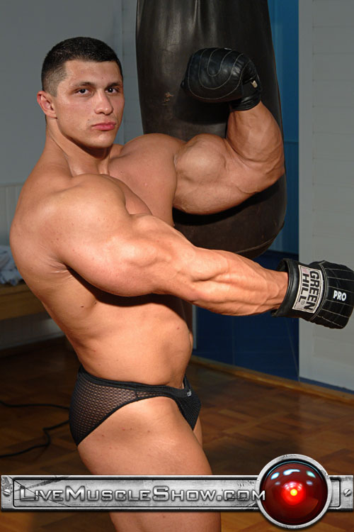 Huge Gay Muscle Bodybuilder