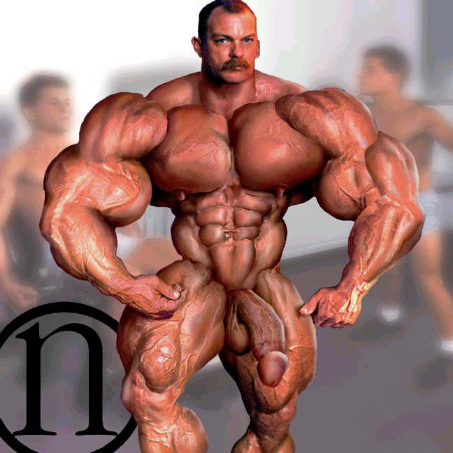 Opinion the sexy morphs muscle daddy think