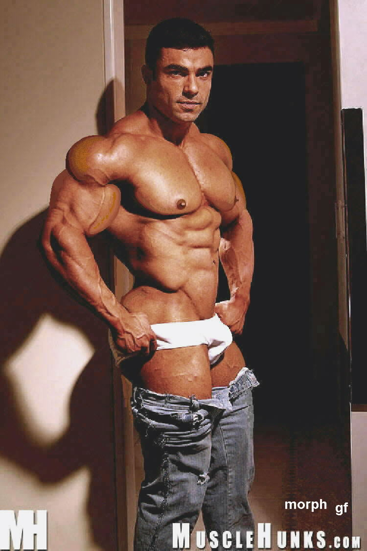 Your place sexy morphs muscle daddy consider, what