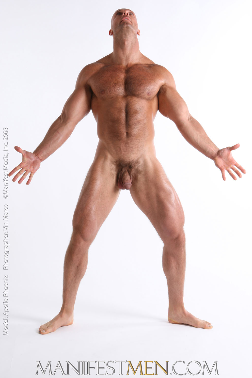 body amazing naked male