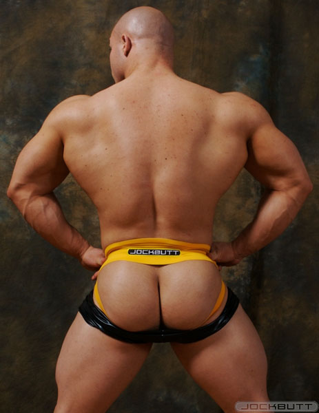 Big ass gay muscle