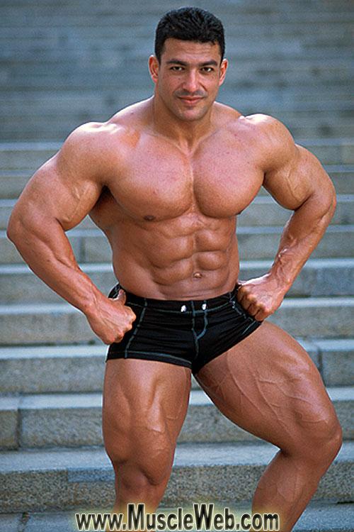 Tarek Elsetouhi Has Huge Muscles