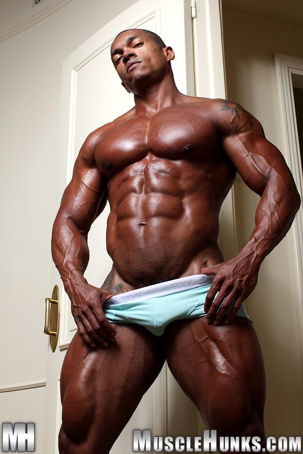 Black monster muscle gay